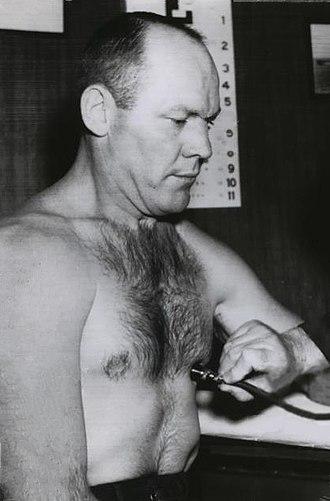 Pete Rademacher - Rademacher in 1961
