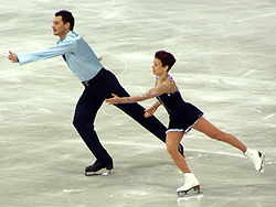 Figure skaters Maria Petrova and Alexei Tikhonov