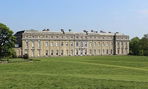 Petworth House - Petworth House, west facade