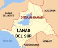 Ph locator lanao del sur ditsaan-ramain.png