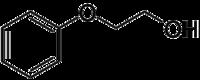 Struktur von Phenoxyethanol