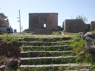 Lajat - Roman-era buildings in the modern town of Shahba (ancient Phillipopolis), located in the southeastern edge of Lajat