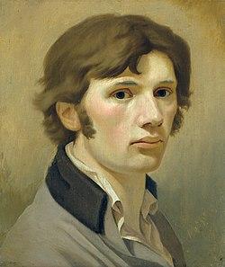 Philipp Otto Runge - Selbstbildnis mit braunem Kragen (ca. 1802).jpg
