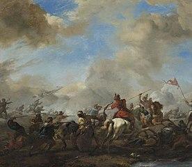 Battle between Europeans and Orientals