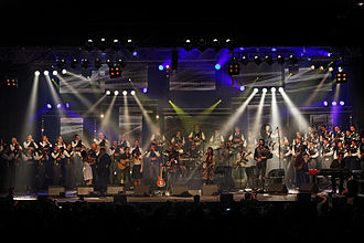 Héritage des Celtes - 20 years of the creation of the Héritage des Celtes at Quimper, 2013