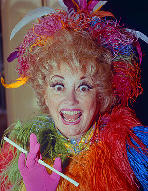 English: Phyllis Diller portrait