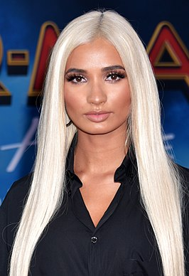 Pia Mia in Hollywood California - June 2019