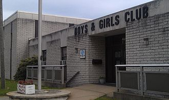 Boys & Girls Clubs of America - Image: Picture of the building of the Boys & Girls Club of Parkersburg