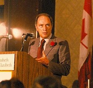Université de Montréal Faculty of Law - Pierre Elliott Trudeau, Prime Minister of Canada