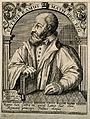 Pierre la Ramée (Ramus). Line engraving by T. de Bry, 1645. Wellcome V0004903.jpg