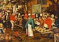 Pieter Bruegel d. J. - Bauernhochzeit.jpg