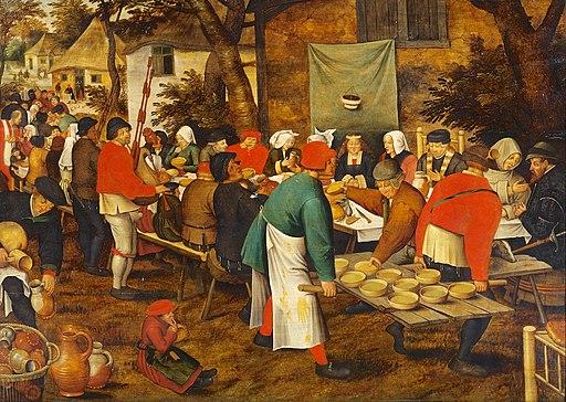Pieter Bruegel d. J. - Bauernhochzeit