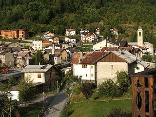 Pietraporzio Comune in Piedmont, Italy