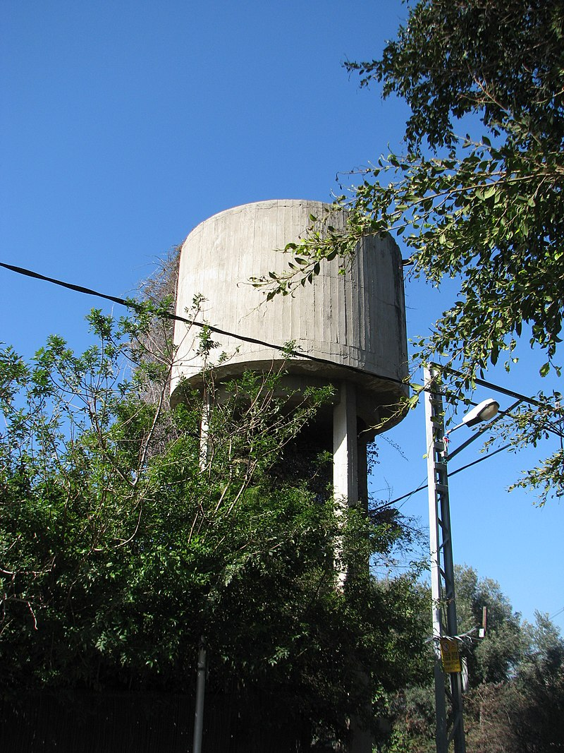 מגדל המים בעין העובד