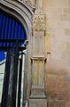 Pilastra gòtica de la portada de la capella de l'hospital de Xàtiva.JPG