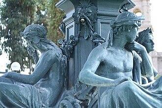 Tacna Region - Fountain in Tacna.