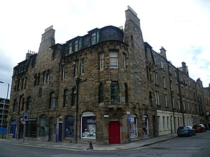 Frederick Thomas Pilkington - Image: Pilkington tenement, Fountainbridge Edinburgh