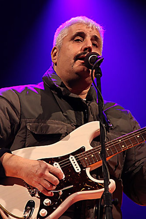 Photo Pino Daniele via Wikidata