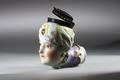 Piphuvud av porslin gjord 1743 - Hallwylska museet - 93911.tif