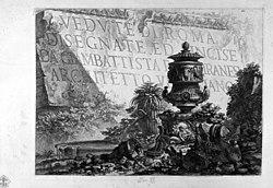 Giovanni Battista Piranesi: Vedute di Roma