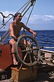 Pirate takes a turn at the wheel (38154313714).jpg