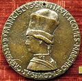 Pisanello, Medaglia di Francesco Sforza, recto.JPG