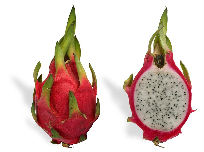 Pitaya cross section