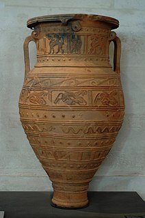Pithos ancient Greek storage container