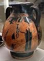 Pittore della nascita di atena, pelike con poseidone che insegue, 460-450 ac. ca., dalla tomba dei vasi greci alla banditaccia 03.jpg