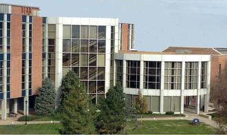 Paul C. Reinert - Pius XII Library, east entrance