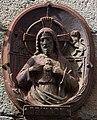 Placa na Praza de Cervantes. Santiago de Compostela.jpg