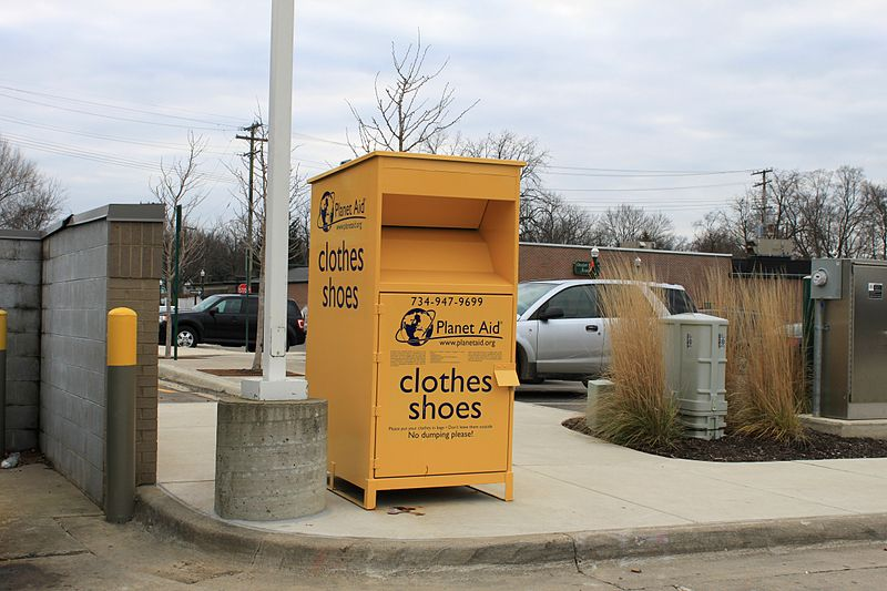 File:Planet Aid Collection Box Dexter Michigan.JPG