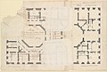 Plans of the Ground and First Floors of the Chateau of Marly MET DP230569.jpg
