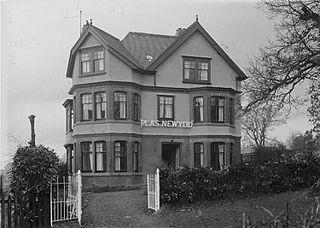Plas Newydd house, Llanwrthwl