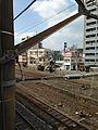 Platform and Trails in Kagoshima Station.jpg