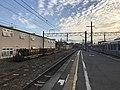 Platform of Haruda Station 6.jpg