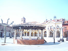 Plaza Mayor de Simancas.