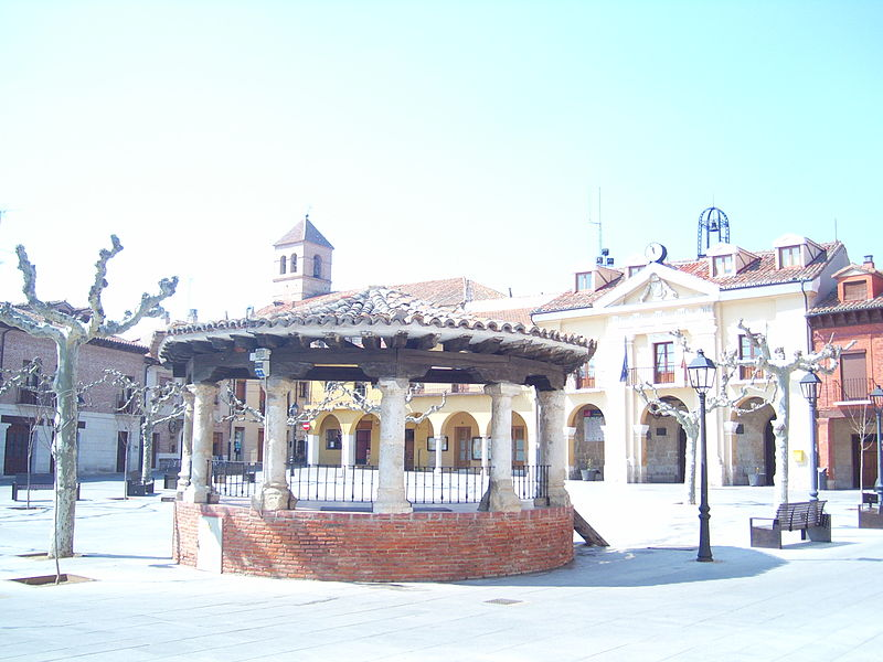 Plaza Mayor de Simancas.
