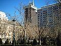 Plaza Villa de París, Madrid - Vista.JPG