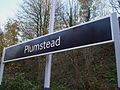 Plumstead station signage.JPG