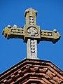 Plungė, bažnyčios kryžius.JPG