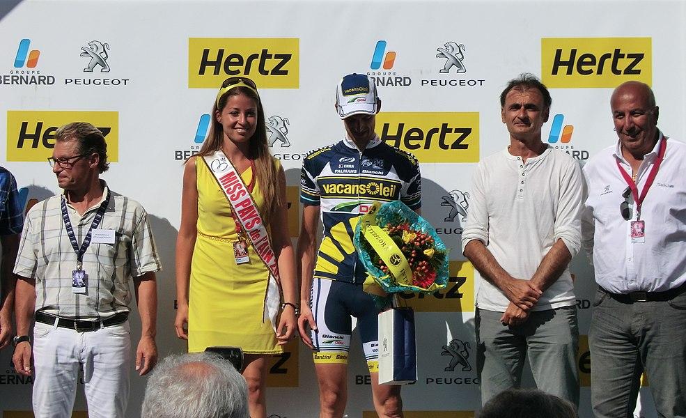 Wout Poels, vainqueur de la quatrième étape.