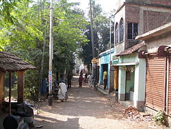 Podara or Podrah village at Andul road