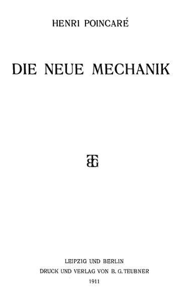 File:PoincareMechanik.djvu