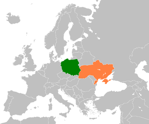 Poland–Ukraine border - Poland and Ukraine within Europe