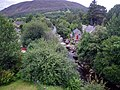 Pole aerial photo from above The Royal Castle of Kindrochit in Mar.jpg