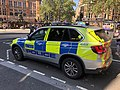 Police car in London in september 2018 - Véhicule de police à Londres en septembre 2018 03.jpg