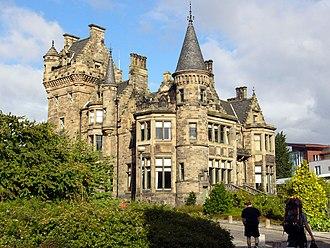St Trinian's School - Rear of St. Leonard's Hall, Pollock Halls of Residence, University of Edinburgh