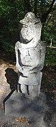 Polovtsi statue in Nieborów, Poland