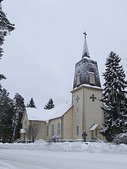 Polvijärvi Church, January 2015.JPG